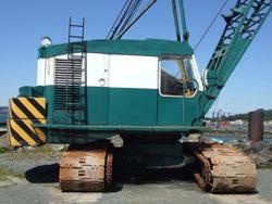 Ruston 500SC - 50t Capacity Crawler Crane